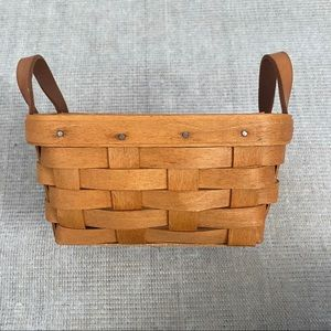 1994 Longaberger Small Double Handle Basket